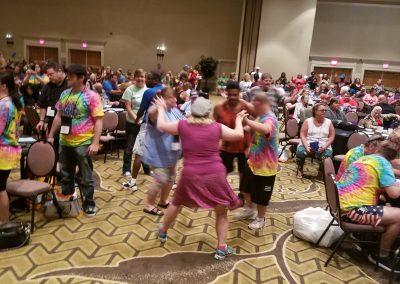 Dancing at Finale