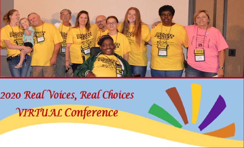 2020 Real Voices - Real Choices VIRTUAL Conference